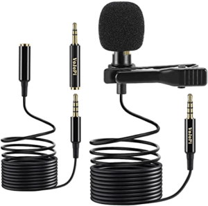 modern clip-on microphone 2020
