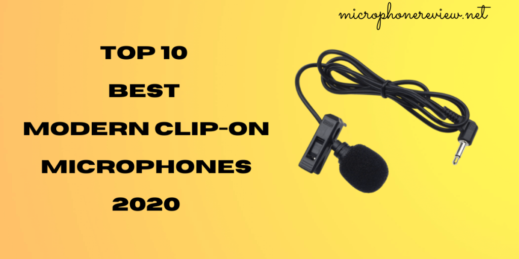 best modern clip-on microphone 2020